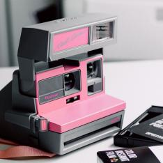 Polaroid Kamera in pink